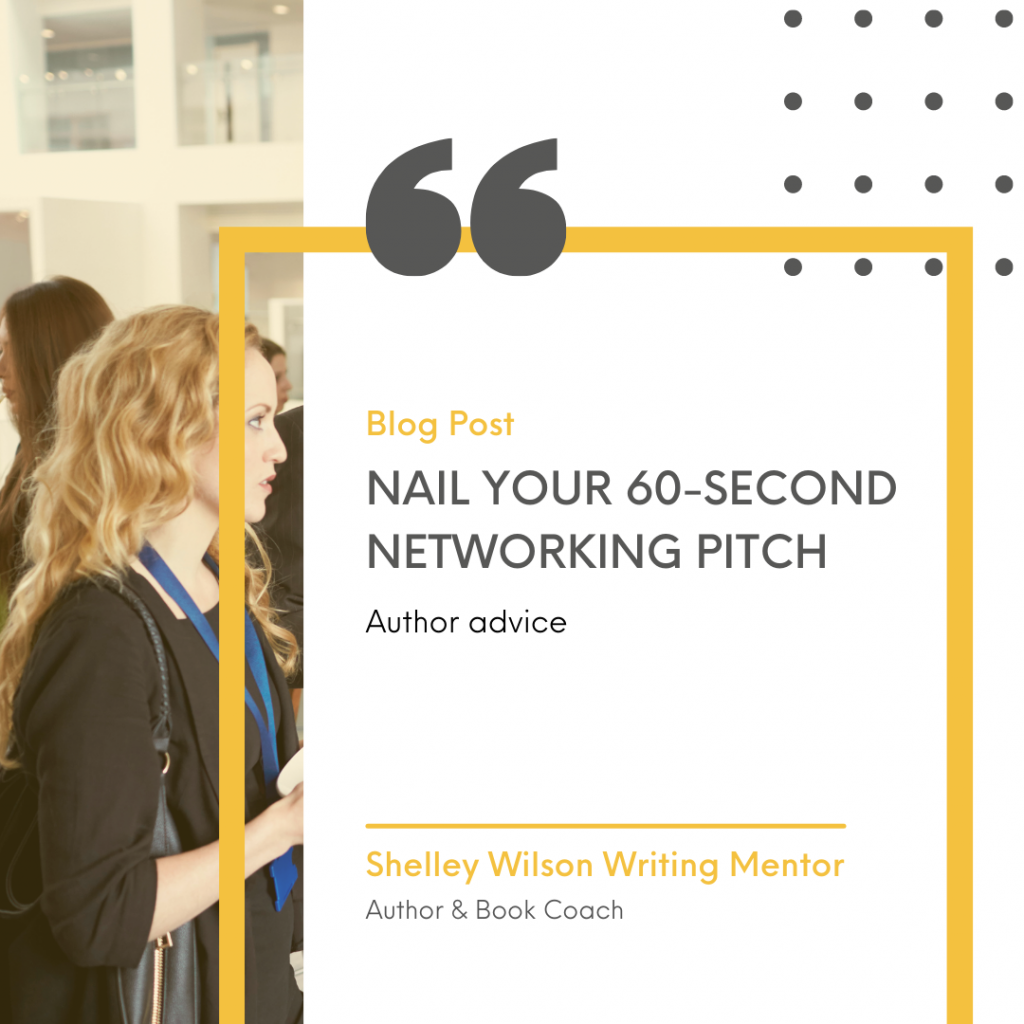 Nail your 60-second networking pitch