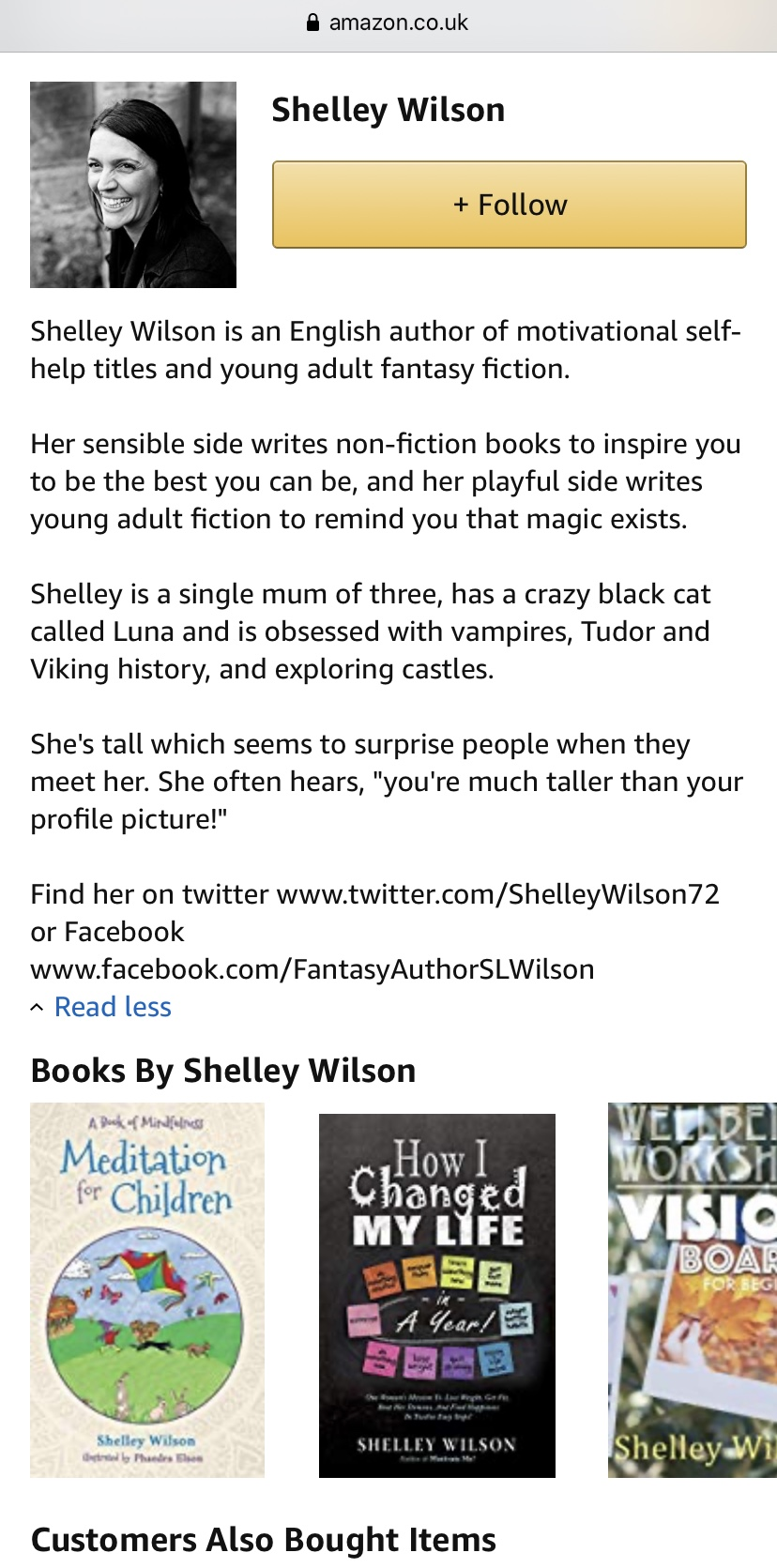 Shelley Wilson Author, Shelley Wilson Writing Mentor, Amazon Author Central,