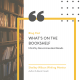 What's on the bookshelf | book recommendations