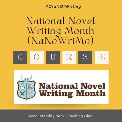 NaNoWriMo | Writing Challenge | Membership